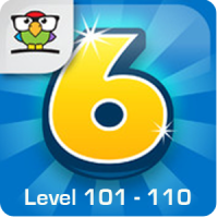 6 Numbers Level 101 - 110 Loesung (by Brainbow)