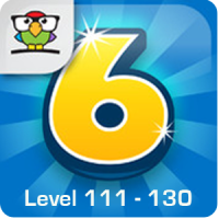 6 Numbers Level 111 - 130 Loesung (by Brainbow)