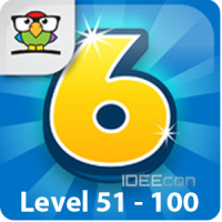6 Numbers Level 51 - 100 Lösung (by Brainbow)