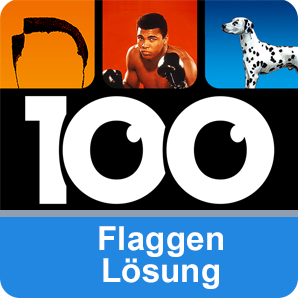 100 Pics Flaggen Lösung aller Level