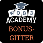 Word Academy Bonus-Gitter Lösung für Apple Watch