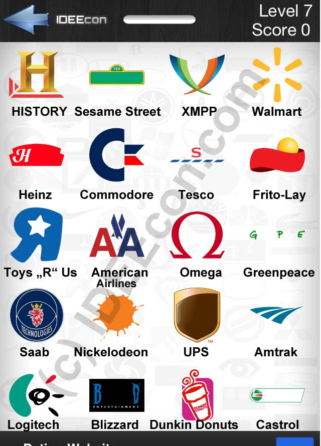 quiz 1 1 All logo quiz answers and cheats fast search by last known logo.