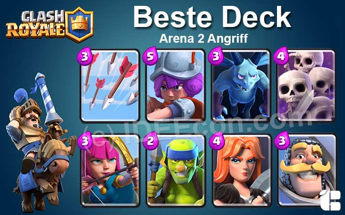 clash royale arena 2 decks