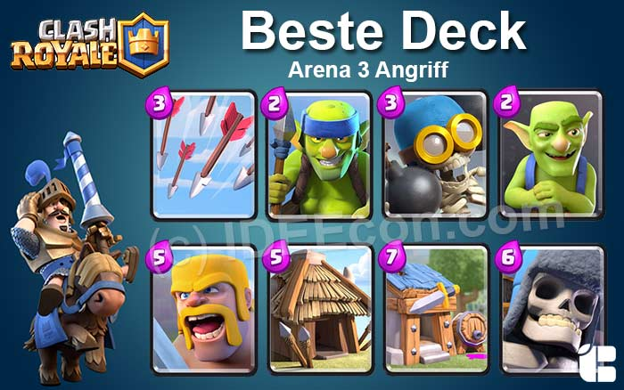 Clash-Royale-Deck-Arena-3-Angriff