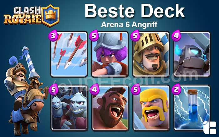 Clash-Royale-Deck-Arena-6-Angriff