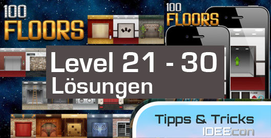 100 Floors Level 21 22 23 24 25 26 27 28 29 30