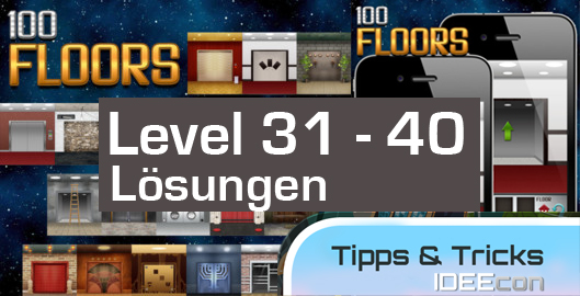 100 floors level 31 32 33 34 35 36 37 38 39 40 for 100 floor 39